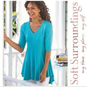 Soft Surroundings Tunic Top Size Medium